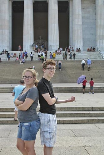 Noah and I in D.C.