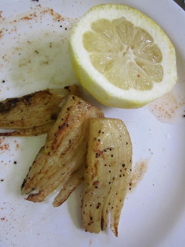 seared fennel