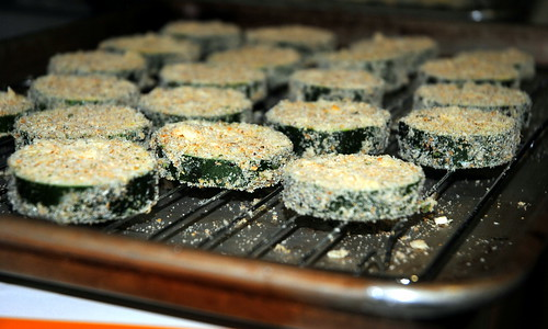 Oven Fried Zucchini Chips with Basil Dipping Sauce | Crazy Jamie's ...
