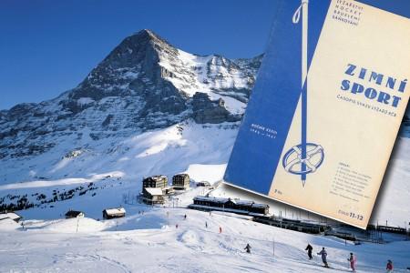 Retro: výlet na Jungfrau 1947