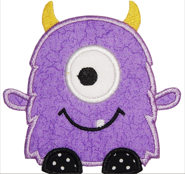 Monster applique_2