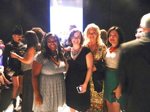 Designers and Bloggers at the Project Runway Show