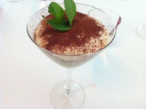 TIRAMISÚ EN COPA: Natilla fria a la vainilla - Restaurante Zortziko - Bilbao