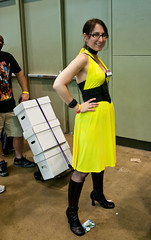 Silk Spectre Cosplay at Baltimore Comic-Con 2012