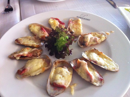 Valparaiso | Portofino | Machas con queso y vino blanco (gratinado)