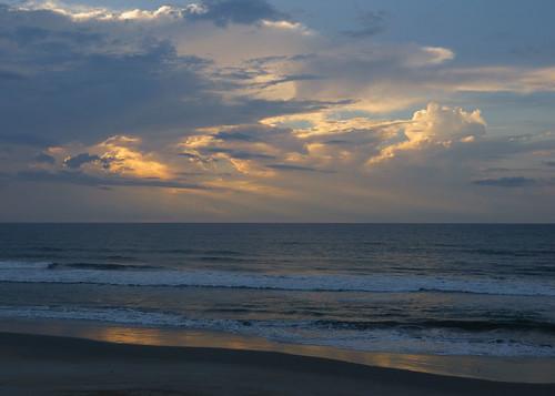 vacation beach sunrise topsail