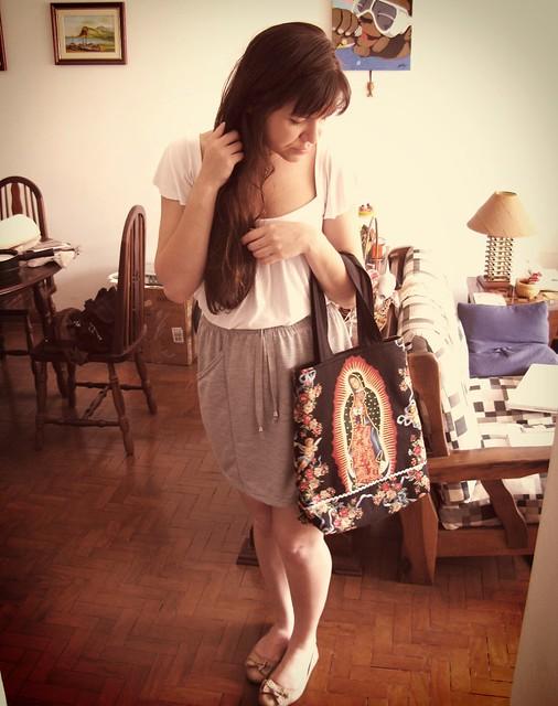 Pri e sua bolsa baldinho Guadalupe!