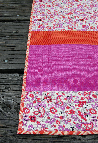 "Cross Your ""T's"" Table Runner"