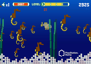 Intellivision in PlayStation Home: Shark Shark