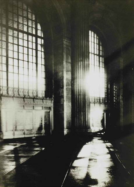 Terminal Tower interior by Margaret Bourke-White