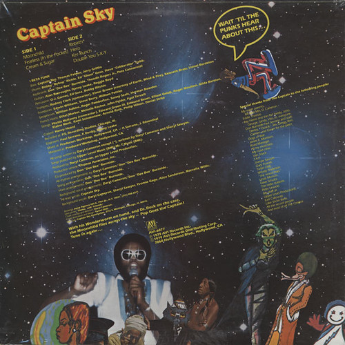 Captain Sky - Pop Goes The Captain bk