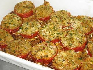 Provencal Roast Tomatoes