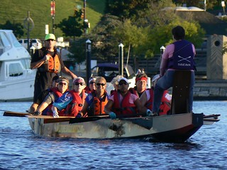 The Baltimore Dragon Boat Club joined in