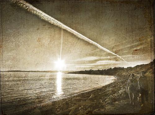 sunset beach bay tatot magicunicornverybest magicunicornmasterpiece