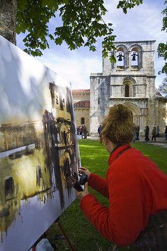 Pintura en Fiestas de Estibaliz web