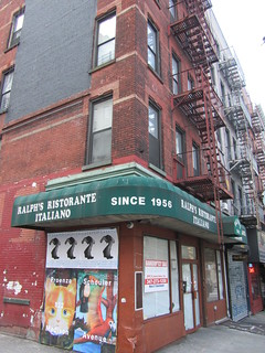 Formerly Ralph's Italiano Ristorante Hell's Kitchen