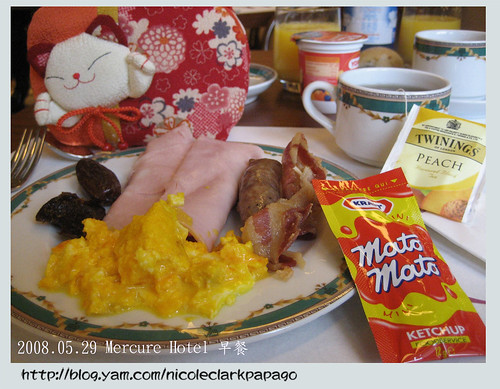 吃在義大利飯店早餐