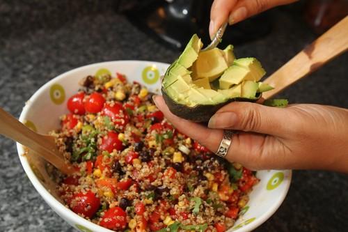 Fiesta Quinoa Salad - Gluten-free + Vegan