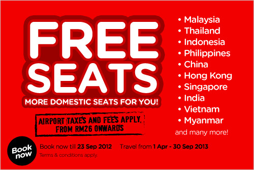 AirAsia's Free Seats Promotion continues with international destinations up for grabs!