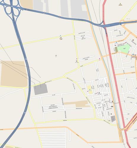 Ard El Lewa, OpenStreetMap, 20120919
