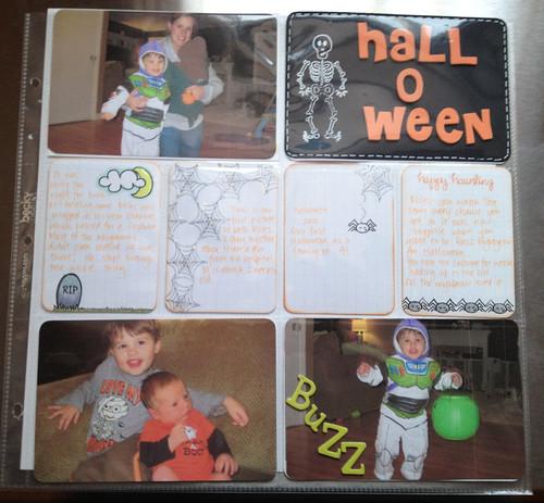 Halloween PL spread