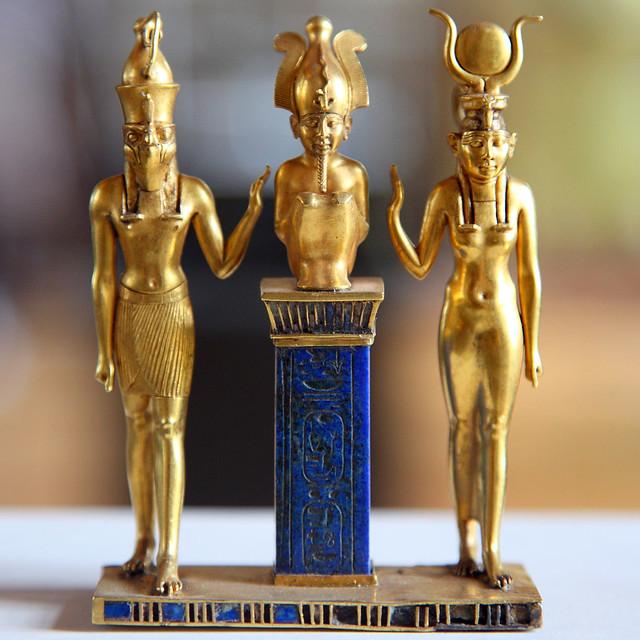 Horus, Osiris, Isis