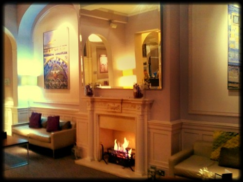 Lobby at Leeds Metropole Hotel