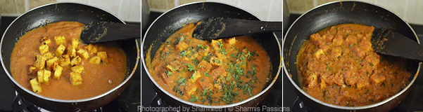 How to make paneer tikka masala - Step5
