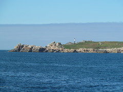 Approaching St Mary's on the Scillonian III