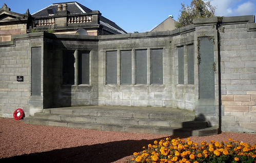 Alloa War Memorial Names