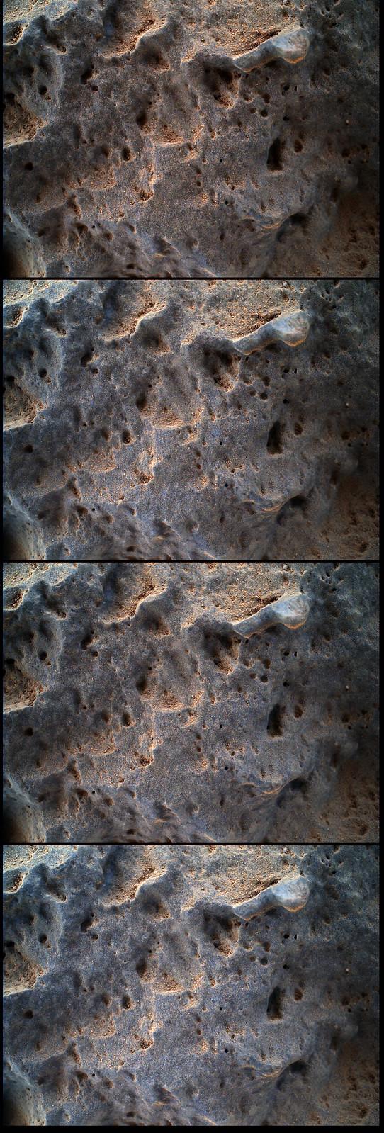 CURIOSITY sol 47 MAHLI