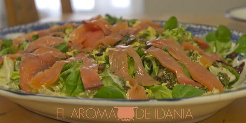 El aroma de idania ensalada de salm n ahumado y aguacate - Ensalada de aguacate y salmon ahumado ...