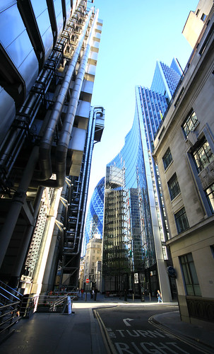 Lloyds, Willis and the Gherkin