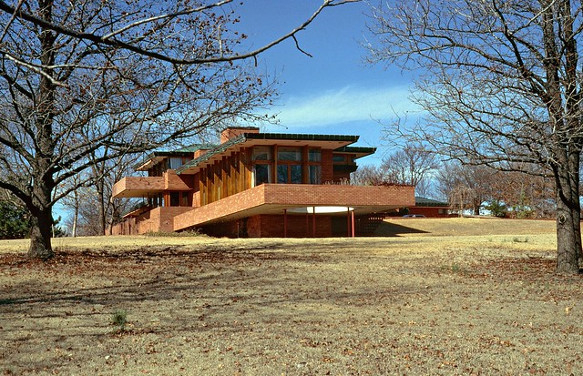 Harold price sr house 1953 flickr photo sharing for Frank lloyd wright oklahoma