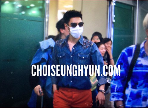 Big Bang - Gimpo Airport - 20may2015 - TOP - Choidot - 01