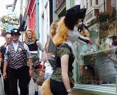 Foxy Girl - Steampunks hit the streets of Lincoln