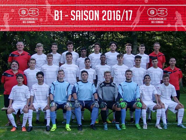 B 1 - Saison 2016/17