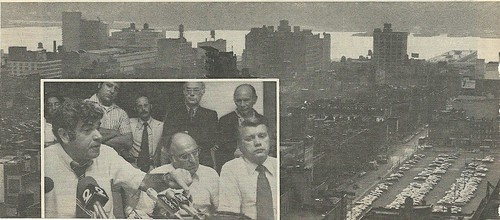 1975 West Side Manhattan & City Officials