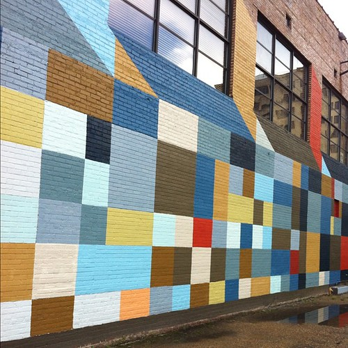 Cool wall in downtown baton rouge, part of the BR Walls Project