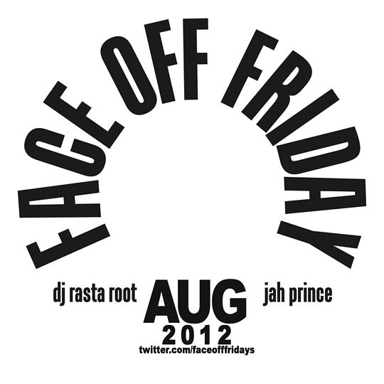 Face Off Friday - August Promo Mix CD