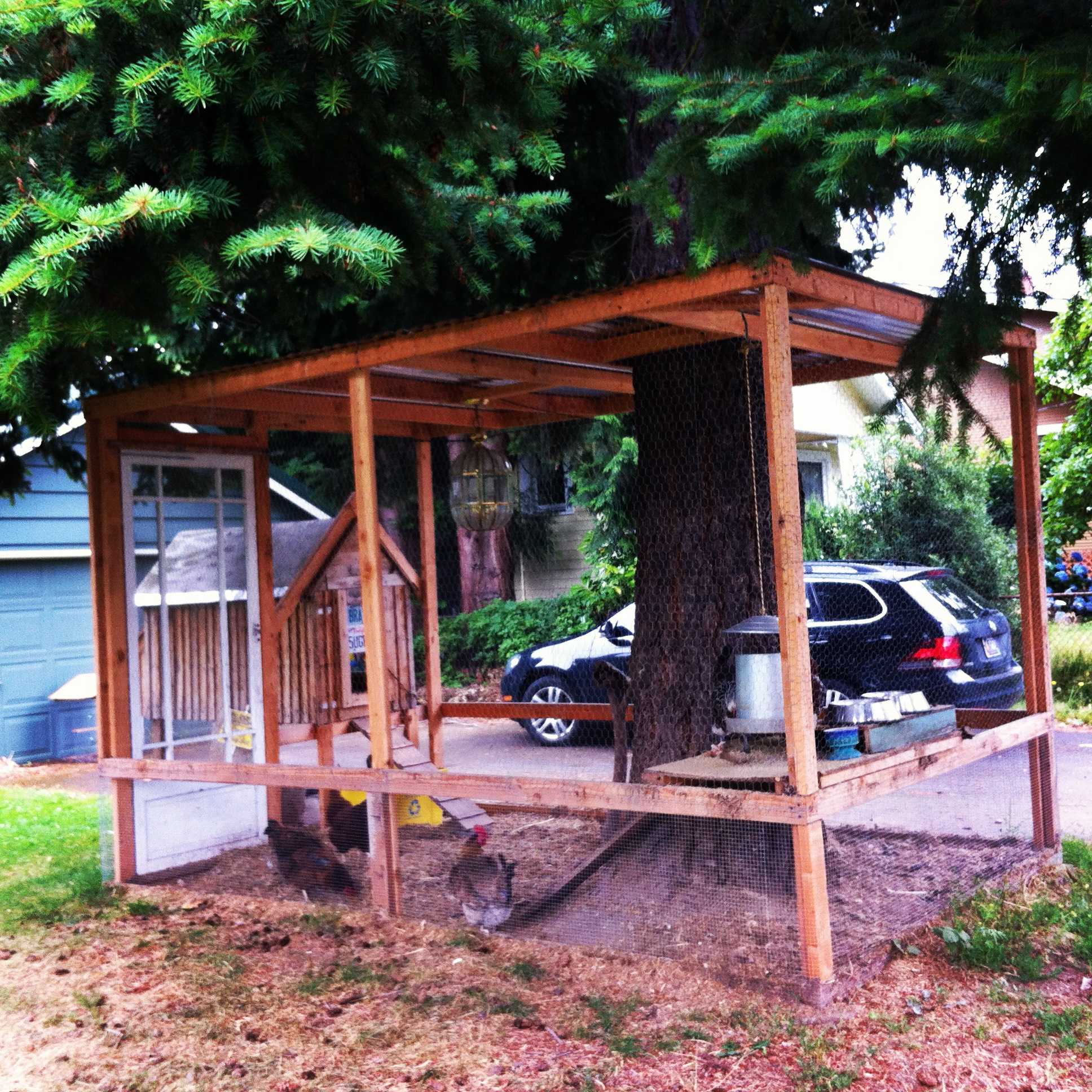 Front Yard Chicken Coop - Portland, OR