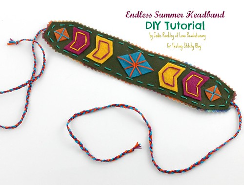 Tutorial by Jodie Rackley, author of Happy Stitch