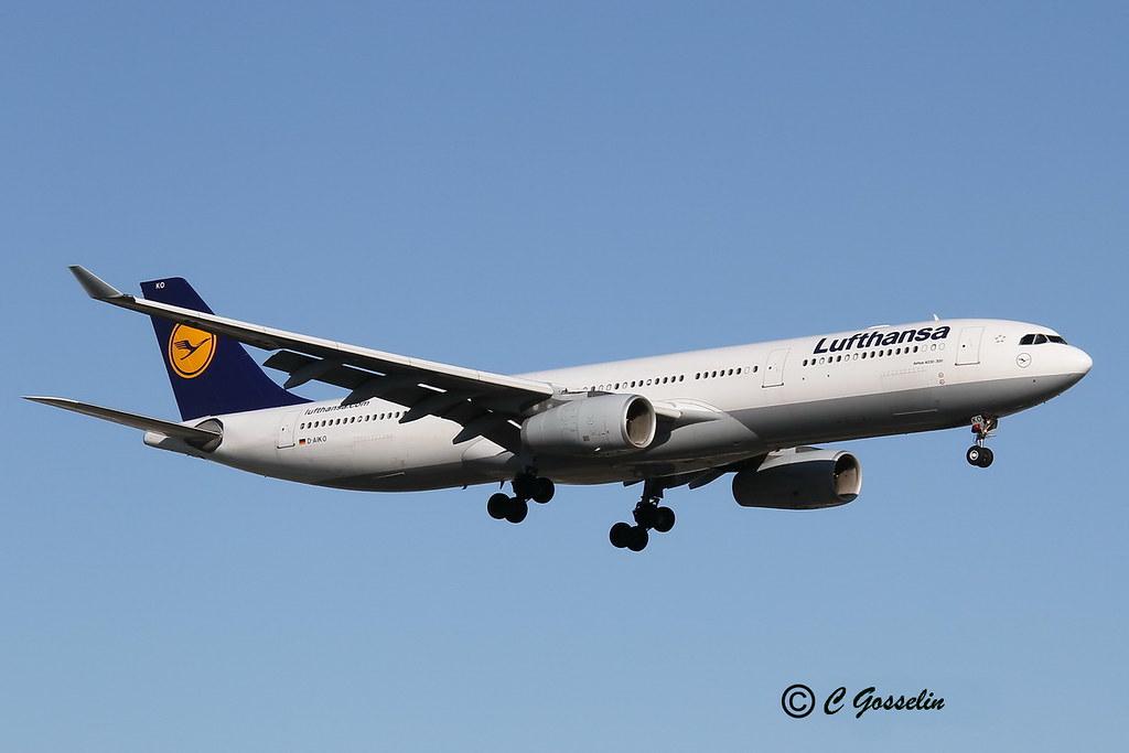 D-AIKO - A333 - Lufthansa