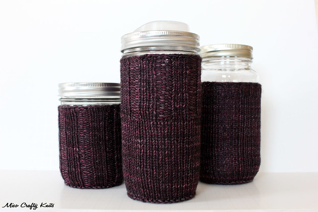 Mason Jar Cozy 3 Ways - 2nd way