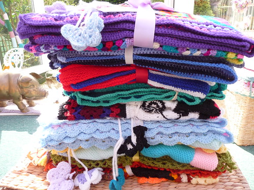 Such wonderful blankets thanks to everyone!