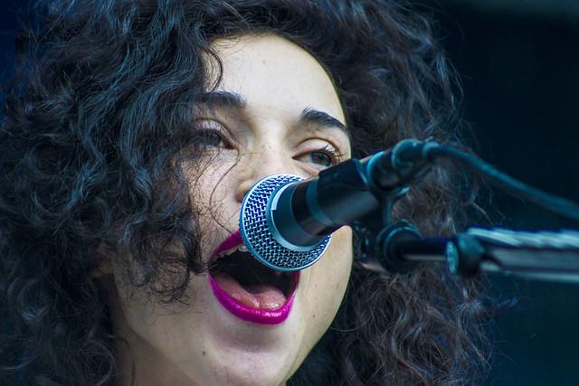 St. Vincent på Øyafestivalen 2012