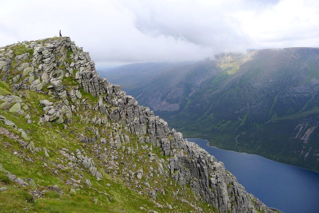 Sgor Gaoith above Braeriach