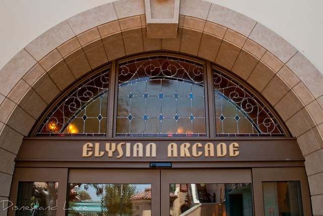 Elysian Arcade - Buena Vista Street -Disney California Adventure