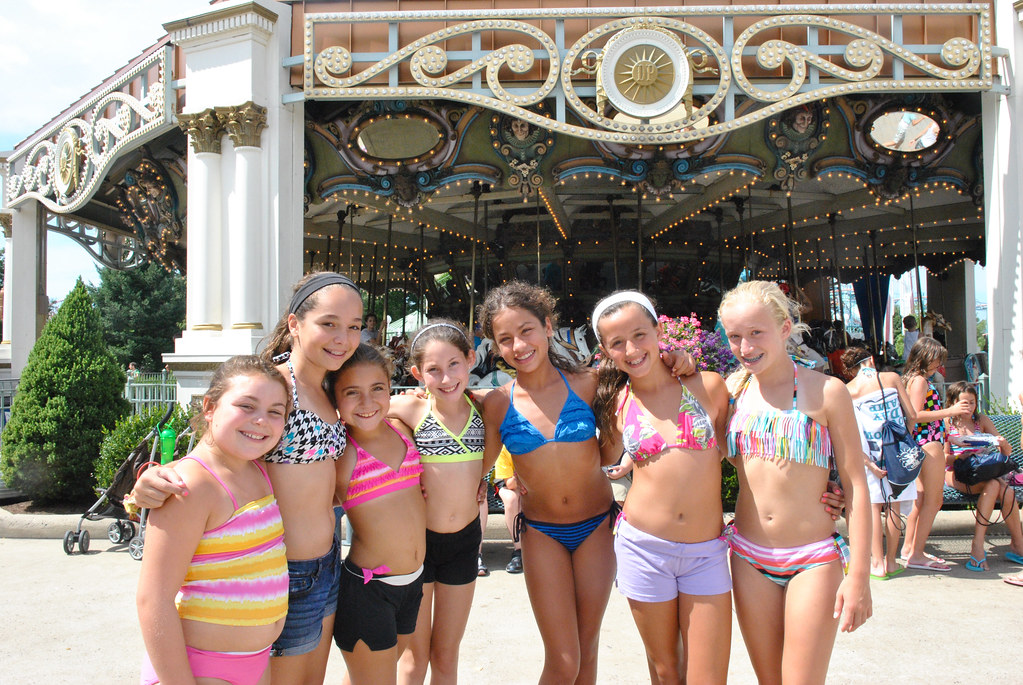 Summer camp bikinis lady