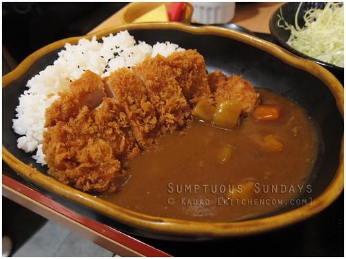 Sumptuous Sundays: Curry Katsu at Yabu by kaoko